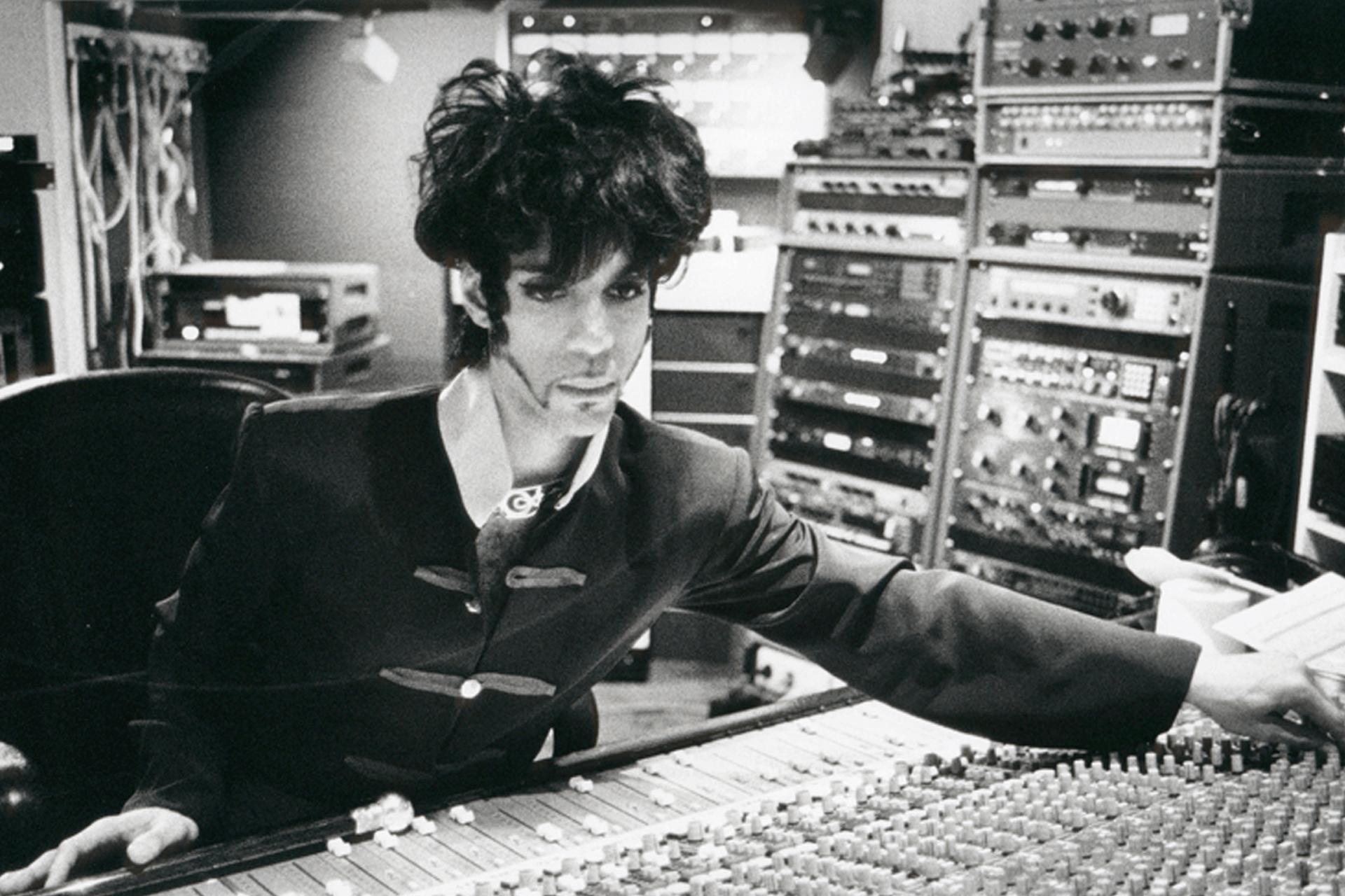 Prince bij Bullet Sound Studios